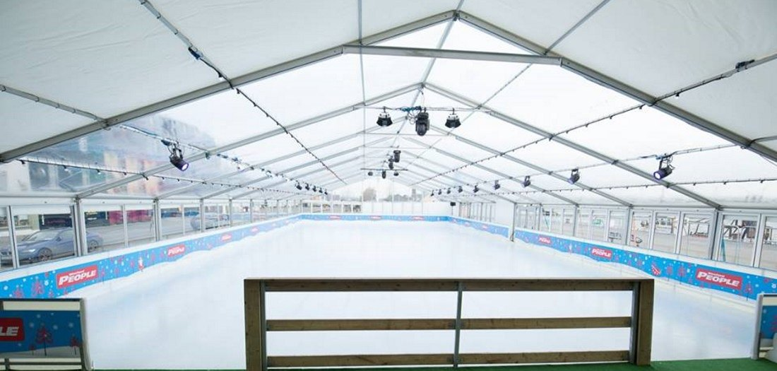 Wexford on Ice, ice rink